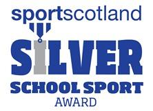 SportScotland Award - Silver Icon
